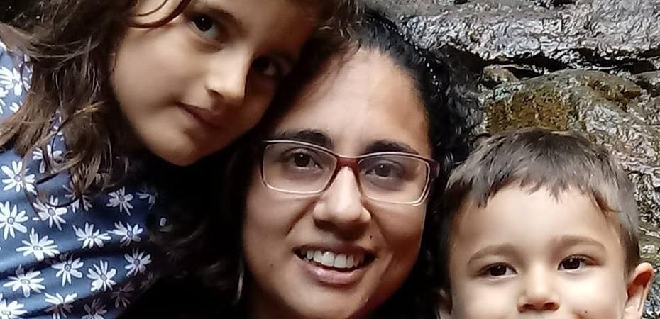 Zioneth e meus filhos